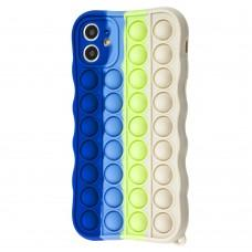 Чехол для iPhone 11 Pop it colors антистресс дизайн 5
