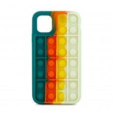 Чехол для iPhone 11 Pop it colors антистресс дизайн 6