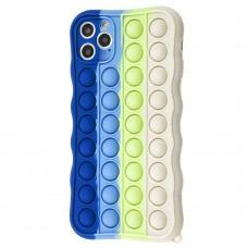 Чехол для iPhone 11 Pro Max Pop it colors антистресс дизайн 5