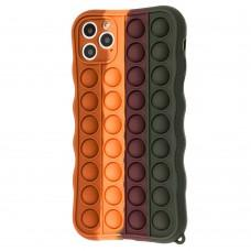 Чехол для iPhone 11 Pro Max Pop it colors антистресс дизайн 10