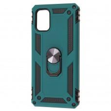 Чехол для Samsung Galaxy M51 (M515) Serge Ring ударопрочный зеленый