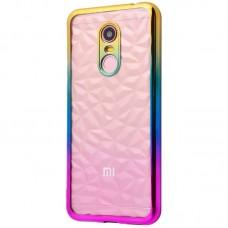 Чехол для Xiaomi Redmi 5 Prism Gradient золотисто розовый