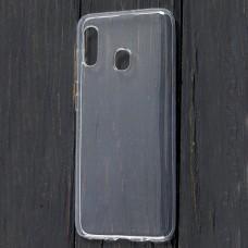 Чехол для Samsung Galaxy A20 / A30 Epic прозрачный