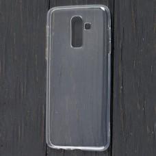Чехол для Samsung Galaxy J8 (J810) Epic прозрачный