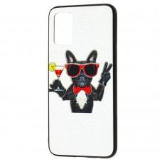 Чехол для Samsung Galaxy A02s (A025) Fashion mix dog