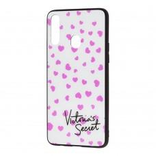 "Чехол для Samsung Galaxy A20s (A207) glass new ""V Secret"""