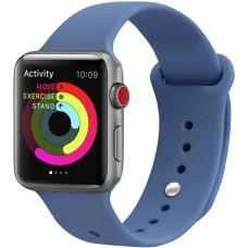 Ремешок Sport Band для Apple Watch 38mm / 40mm blue grey
