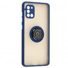 Чехол для Samsung Galaxy A31 (A315) LikGus Edging Ring синий