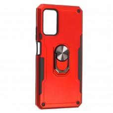 Чехол для Xiaomi Redmi 9T Serge Ring ударопрочный красный