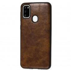 Чехол для Samsung Galaxy M21 / M30s Lava case светло-коричневый
