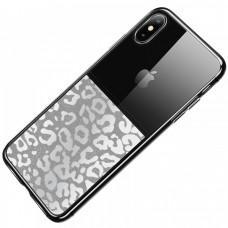 "Чехол для iPhone Xs Max Usams Yzon ""leopard"""