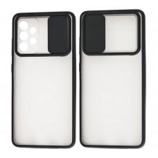 Чехол для Samsung Galaxy A52 LikGus Camshield camera protect черный