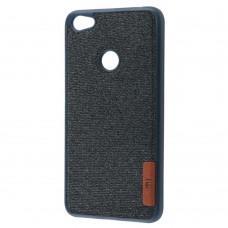 Чехол для Xiaomi Redmi Note 5A Prime Label Case Textile синий