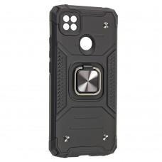 Чехол для Xiaomi Redmi 9C Hard Defence черный