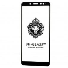 Защитное стекло для Xiaomi Redmi Note 5 Pro Full Glue Lion черное