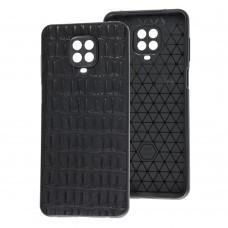 Чехол для Xiaomi Redmi Note 9s / 9 Pro Leather case кроко