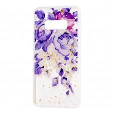 """Чехол для Samsung Galaxy S10e (G970) Flowers Confetti """"пионы"""""""