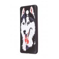 Чехол для Xiaomi Redmi Note 4x Star case Хаски