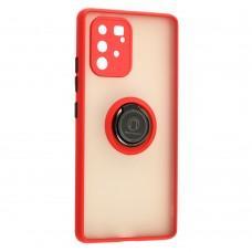 Чехол для Samsung Galaxy S10 Lite (G770) / A91 LikGus Edging Ring красный