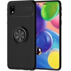 Чехол для Samsung Galaxy A01 Core (A013) Deen под магнитный держатель черный