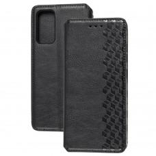 Чехол книжка для Samsung Galaxy S20 FE (G780) Getman Cubic черный