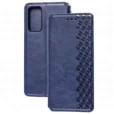 Чехол книжка для Samsung Galaxy S20 FE (G780) Getman Cubic синий